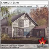 Trompe Loeil - Salinger Barn [mesh]