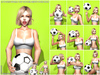 s poses  world cup soccer bento pose pack pic