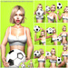 s poses  world cup soccer bento pose pack ad