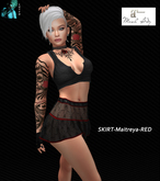 LUTCH-skirt-Maitreya-RED1-