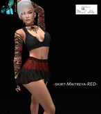 LUTCH-skirt-Maitreya-RED-