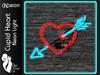 >^OeC^< (N)eon - Cupid Heart Mesh Neon Light