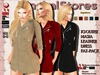 420 KS OUTFIT MASIA LEATHER DRESS FAT-PACK