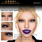 .::AS. Design::. Mayreal Diamond Teardrop Piercings