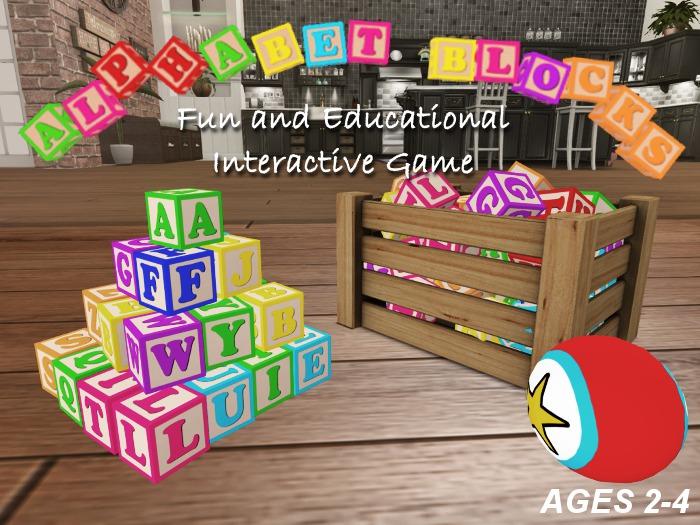 .:BABYLUSH:. Alphabet Blocks - Toy for toddlers - TD Toddleedoo Baby Kid Badseed Bebe