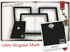 -W-[ Home Decor ] Black Gallery Picture frames