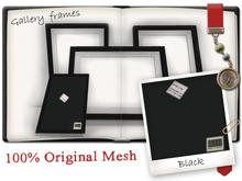 -W- Gallery Frame Black (mod/Copy)