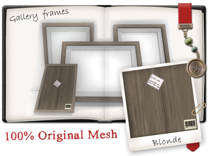 -W-[ Home decor ] Blonde Gallery Picture frames