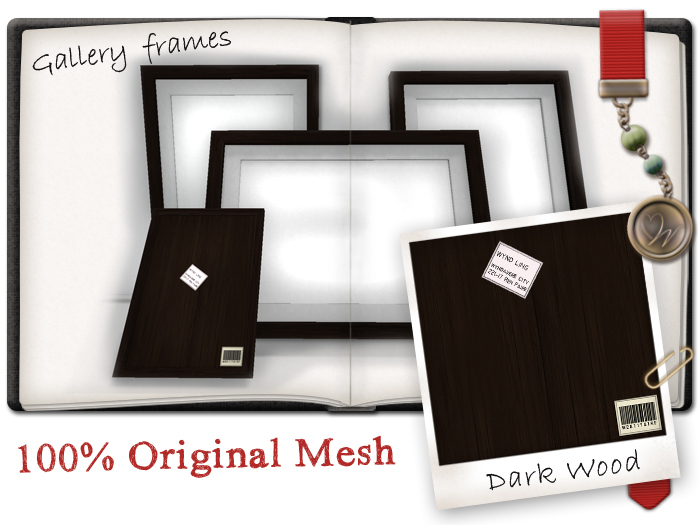 -W-[ Home Decor ] Darkwood Gallery picture frames