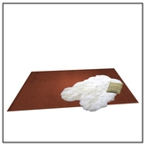 Apres Ski Rug with Sheep and Pillow - Belle Belle Furniture