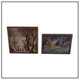 Apres Ski Paintings 1 - Belle Belle Furniture