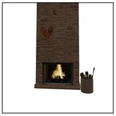 Apres Ski Fireplace - Belle Belle Furniture