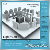 Wall Mesh with full permissions - ZimberLab Builder's Kit A - Exp 1