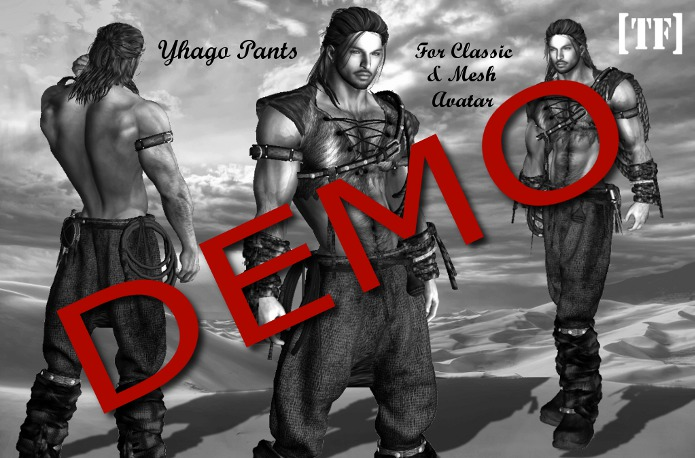 DEMO Bag - YHAGO PANTS [TF] - [Wear to Unpack]
