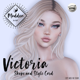 { M a d d o x } Victoria Shapes & Style Card