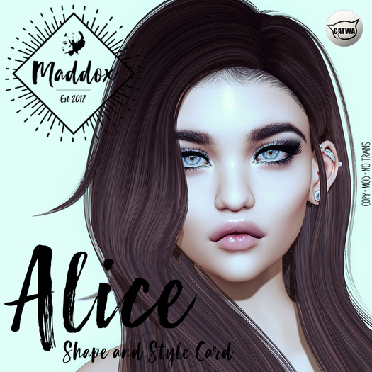 { M a d d o x } Alice Shapes & Style Card