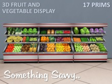 {{Something Savvy}} Fruit and Vegetable Display Stand