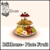 BSHouse- Plate Fruit Box