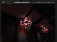 [Dolphin Design] Blood Moon  chandelier
