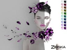 Zibska ~ Naira Color change headpiece, collar and orbit