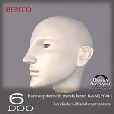 DEMO *6DOO* bento Fantasy mesh head KAMUY-01
