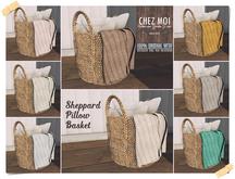 Sheppard Pillow Basket ♥ CHEZ MOI