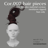 *booN Cor.007 hair pieces brown pack