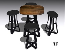 Bar table & chair set 007