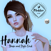 { Ma d d o x } Hannah Shapes & Style Card