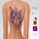 TSB ::: Tattoo cat mandala