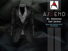 //Ascend// Mr. Valentine Jacket - Print Black