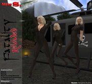Miss S. Catsuit Fatality Reloaded black