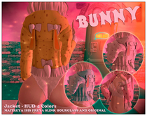 zOOm - Bunny Jacket HUD 4 Pastel Colors