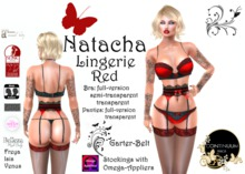 Continuum Natacha Red Lingerie