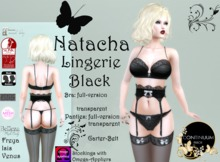 Continuum Natacha Black Lingerie