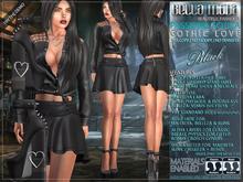 Bella Moda: Passione Gotica Black Gothic Love Outfit