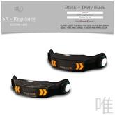 :::SOLE::: SA - regulator  Black