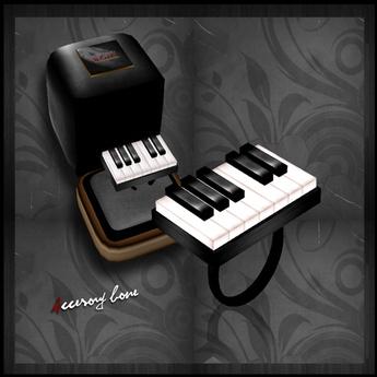 accessory bone A:B ring 005 Piano