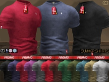 CA PROMO SAVE 75% SIGNATURE SLINK TMP SUMMER SHIRTS FAT PACK