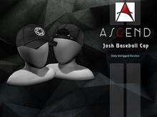 ///Ascend// Josh Baseball Cap - Black [ADD ME]