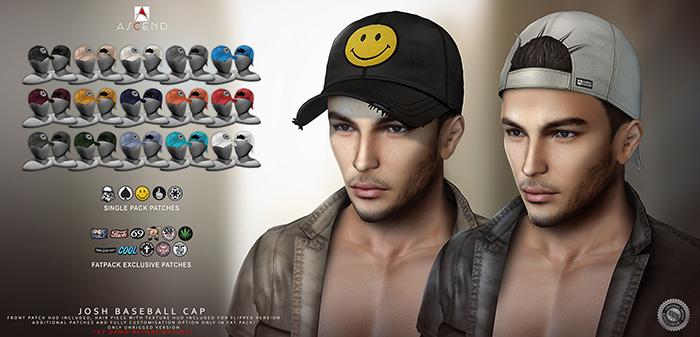 ///Ascend// Josh Baseball Cap - Fatpack