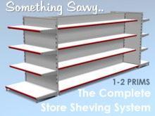 {{Something Savvy}} The Complete Store Shelving System