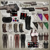[The Forge] Rogue Boots, Brown