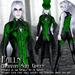 Falln Avaritia Suit Green