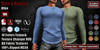 GAS [Men's Henley Shirt Mike - 10 Colors w/HUD FATPACK]