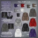 [ abrasive ] Chaos Arm Bands - Black