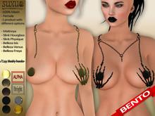 [SuXue Mesh] FATPACK Bento Rigged Karlotta Necklace Hud Maitreya Slink Hourglass Physique Belleza Isis Venus Freya