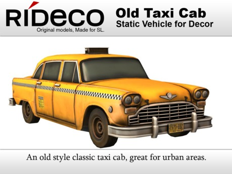 RiDECO - Old Taxi Cab