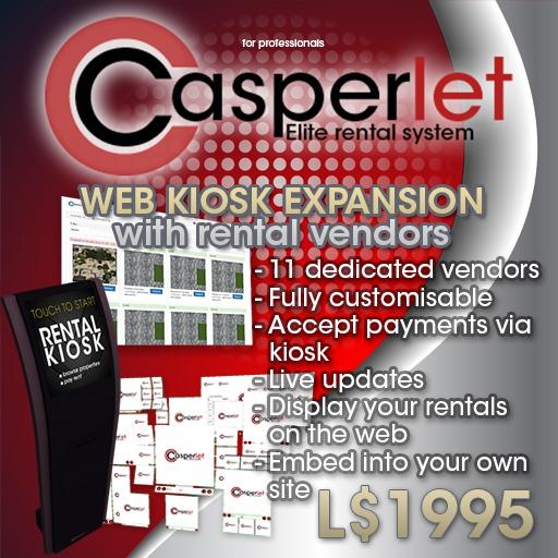 CasperLet - Web Kiosk and Vendor Expansion Pack