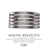 Cae :: Mantra :: Strength :: Bracelet [bagged]